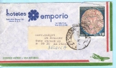 MEXIKO MEXICO MEXIQUE  Brief Cover Lettre Firma Commercial HOTEL 1703 Coyolxauhqui Mondgöttin  (18710) - Mexique