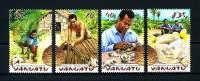 VANUATU 2003  N° 1160/1163  **  Neufs Ier Choix. Sup.  (Flore, Palmier. Tortue, Turtle - Vanuatu (1980-...)