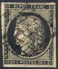 # France 3a, Used, VF, Sound (fr003a-1 Michel 3y    [16-ER - 1849-1850 Ceres