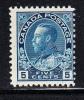 Canada MNH Scott #111  5c George V - Admiral Issue - Neufs