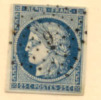 # France 6a, Used, Sound, 4 Margins  (fr006c-1. Michel 4a   [16-CE - 1849-1850 Ceres