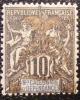 1903 Nouvelle Calédonie Type Groupe Sché 50aire Or 10 Centimes Neuf * YT 72A Côte Dallay 15.00 € - Zonder Classificatie