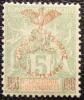 1903 Nouvelle Calédonie Type Groupe Sché 50aire 5 Centimes Vert Jaune Neuf * YT 71  Côte Dallay 14.00 € - Zonder Classificatie