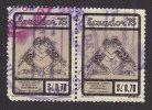 Ecuador, Scott #925, Used, Wrestling, Issued 1975 - Ecuador