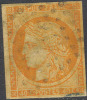 # France    7, Used, RARE , 4 Mgns    (fr007-4\5,  Michel 5  [16-DET - 1849-1850 Ceres