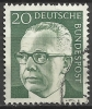 1970 Germania Federale - N. Michel 637 Usato - Usati