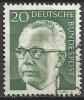 1970 Germania Federale - N. Michel 637 Usato - [7] Repubblica Federale