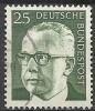 1971 Germania Federale - N. Michel 689 Usato - [7] Repubblica Federale