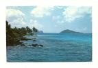 Cp, St-Vincent Et Les Grenadines, Tobago Cays, Petit Bateau In The Background, Mayereau And Union, Voyagée - Postcards