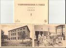 KUURNE  - Cuerne - Vakhuishoudschool H. Familie - Map Met 10 Kaarten - Kompleet - Kuurne