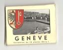 Photos, Suisse - Genève - Pochette De 10 Vues - Lieux