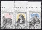 Vatican - 1973 - Yvert N° 555 à 557 - Vatican
