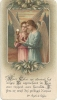 Carte De Communion Solennelle De Marie Louise Deville De Periere De Juillet 1927 - Religion & Esotérisme