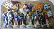 SERIE COMPLETE DE 12 FEVES SUPERMAN 1998