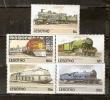 LESOTHO  RAILWAYS SET OF 5 STAMPS TRAIN MNH - Lesotho (1966-...)