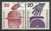 1974 Germania Federale - N. Michel 698 C / 696 C W 55 Da Libretto - Usato - [7] Repubblica Federale
