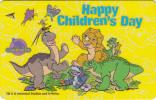 "SINGAPORE(GPT) - Happy Children""s Day, CN : 155SIGA(normal 0), Used - Singapur"