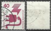 1971 Germania Federale - N. Michel 699 A Ra Con Numero Al Verso - Usato - [7] Repubblica Federale