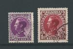 Zegels 391 En 393 Gestempeld Aan 20% - Used Stamps