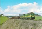 ROGNON (BELGIQUE) Loco Diesel BB 5935 Et 5929 Le 1 Avril 1986 - Trenes
