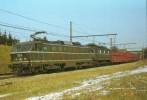 HAREN (BELGIQUE) Loco électrique 2014 Et 2905 Le 12 Février 1982 - Trenes