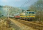 Tunnel LA BROUCK (BELGIQUE) Loco électrique BB 2724 Le 29 Octobre 1983 - Trenes