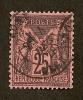 N°91 Oblitéré  De Bone TB Et Centré Cote  50 Euros !!!!RARE! - 1876-1898 Sage (Type II)