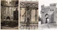 TOLEDE - 3 CPSM - Cathedral - El  Christo De La Vega -puerto Del Sol  (30104) - Gibraltar