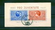 1937. 25 Jahre Pro-Juventute-Marken ZNr.83I + 84I - Used Stamps