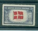 U.S.A. POSTFRIS MINT NEVER HINGED SCOTT 920 OVERRUN COUNTRIES FLAGS - Nuevos