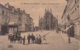 Bruxelles Laeken -- Eglise Et Parvis Saint Roch  1923 - Laeken