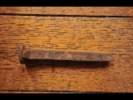 Railroad Railway Santa Fe Authentical Nail Clou Chemin De Fer Train A PIECE OF HISTORY !! - Other Collections