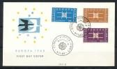 ZYPERN Mi.Nr. 225-227 EUROPA CEPT- 1963- FDC - Europa-CEPT