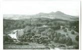 UK, United Kingdom, Sir Walter Scott's Favorite View From Bemersyde Hill, 1920s Unused Postcard [P7817] - Berwickshire