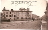 CPA 39 SAINT LAURENT DU JURA LA PLACE HOTEL DU COMMERCE  RARE BELLE CARTE !! - Unclassified
