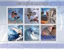 S. TOME & PRINCIPE 2007 - Extreme Sports - Mi 3080-5, YT 2302-7 - Skateboard