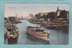 MAGDEBOURG  -   Am Hafen  -  1916  FELDPOST -  TRES BELLE CARTE  - - Magdeburg
