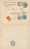 1902. Niederlande Netherlands. R-Firmenbrief V. Amsterdam N. Eschwege (D) - Unclassified