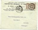 FRANCE Comm. Cover Constructions Mecanique De Chambres Paris 30-9-1921 To Bielefeld - Frankrijk