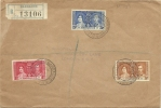 Barbados Registered Cover With Coronation Stamps 1937 - Barbados (...-1966)