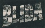 ALGÉRIE - BLIDA - Jolie Carte Vues Multiples écrite En 1905 - Blida