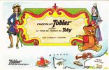 Publicité Chocolat Tobler (voir Descriptif Et Scans) - Chocolat