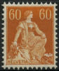 Suisse (1917) N 165 * (charniere) - Nuovi