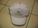 Casquette Blanche Avec Bande Réfléchissante White Cap With Reflective Strip FRANCE - Caps