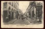 Cpa D´ Algérie Blida 36 Rue D´ Alger   NW24 - Blida