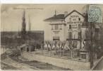 Carte Postale Ancienne Jassans - Hôtel Du Beau Rivage - Francia