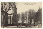 Carte Postale Ancienne Le Mas Rillier - L'Eglise Et La Villa Des Deux Soeurs - Francia