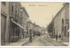 Carte Postale Ancienne Miribel - Grande Rue - Francia