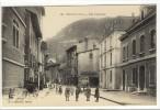 Carte Postale Ancienne Tenay - Rue Centrale - Andere Gemeenten