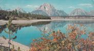 ZS9464 Wyoming Mount Moran Used Perfect Shape - Etats-Unis
